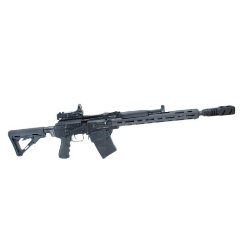 Переходник приклада Вепрь 12 с завышением на оружии, LAC