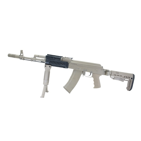 Складной приклад АК-74 на оружии