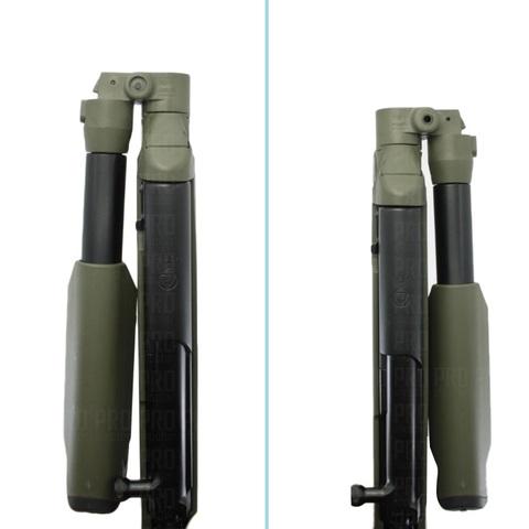 Пластиковое ложе для СКС - сложение приклада вправо и влево