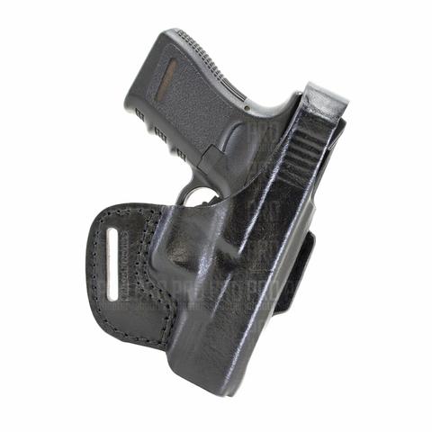 Кобура для Glock 19 поясная, Стич Профи, модель №6