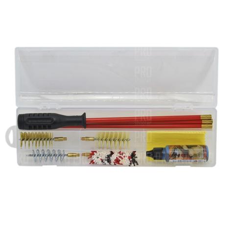 Набор для чистки оружия  гладкоствольного 12 калибра, металлопастиковый шомпол