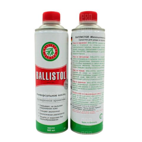 Оружейное масло Ballistol Klever, 500 мл