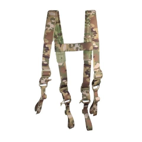Наплечная крепежная система для разгрузочного пояса.