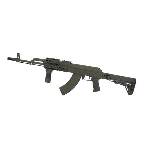 Труба приклада АК складная на оружии, DLG Tactical