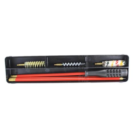 Набор для чистки оружия гладкоствольного 410 калибра, металлопластиковый шомпол