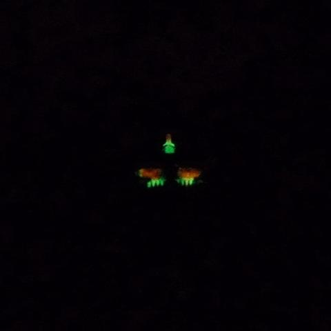 Покрытие DuraGlo в темноте