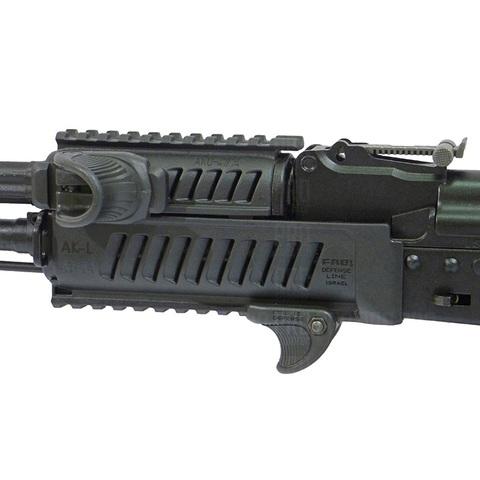 Тактическое цевье на АК, Fab Defense с рукоятками VTS