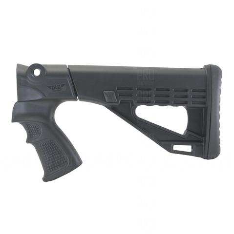 Приклад пластиковый на МР-135 вид сбоку, DLG Tactical