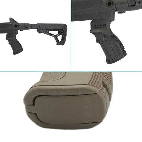 Приклад, пистолетная рукоятка и отсек для хранения в рукоятке
