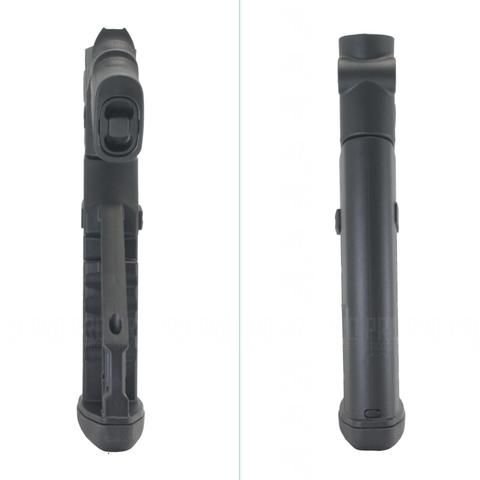 Приклад пластиковый на МР-135, -155 вид сверху и снизу
