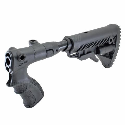 Телескопический приклад на Remington, Fab Defense