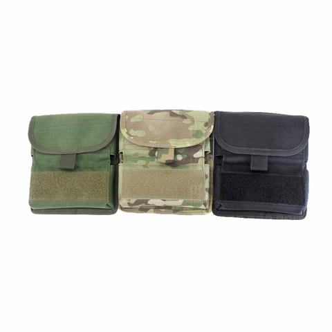 Подсумок для патронов 12 калибра в цветах олива, мультикам, черный