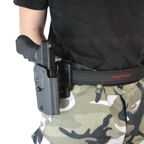 Спортивная кобура для Glock от Double Alpha на ремне