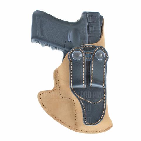 Кобура для Glock 19 скрытого ношения, Стич Профи, модель №14