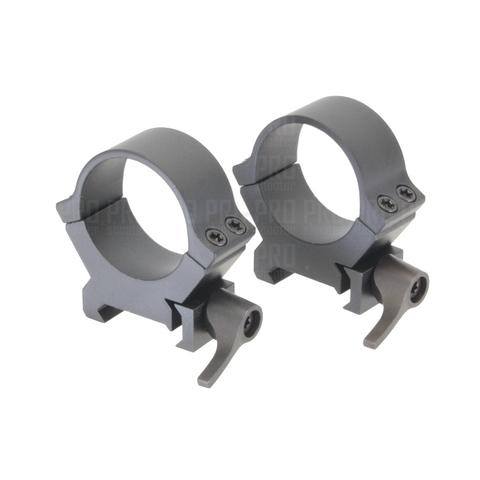 Кольца QRW 30 мм низкие, Leupold