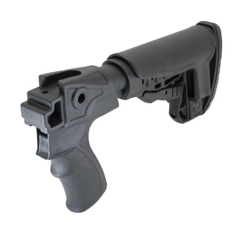 Телескопический приклад на Сайгу 12, DLG Tactical