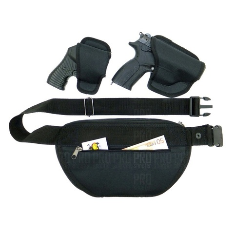 Поясная сумка кобура для скрытого ношения оружия «Поясная», МТ