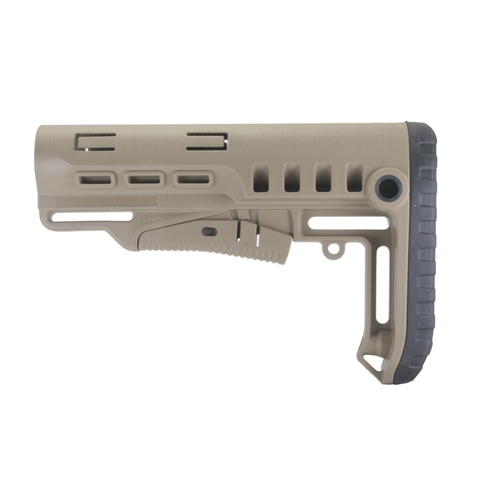 Телескопический приклад TBS Tactical вид сбоку, DLG Tactical