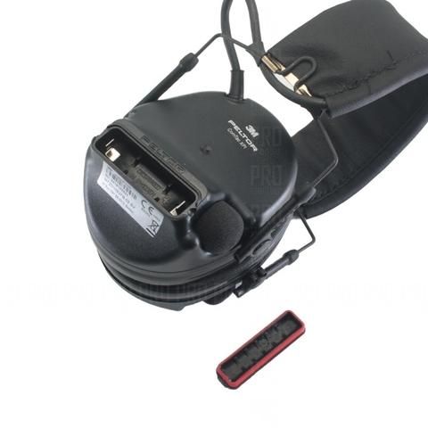 Отсек для батарейки в правом наушнике