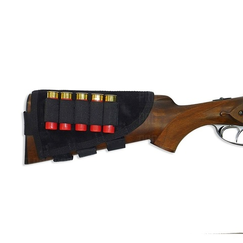 Подщечник на приклад с патронташем 12 и 16 калибров