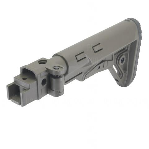 Складывающийся приклад на АКМ, DLG Tactical