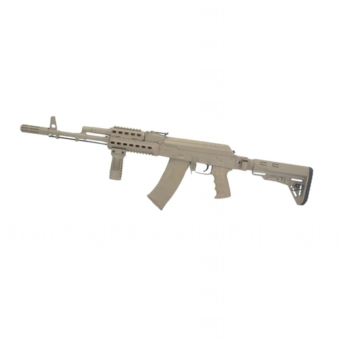 Складывающийся приклад на АКМ от ДЛГ Тактикал на оружии