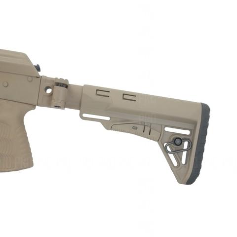 Складывающийся приклад на АКМ на оружии