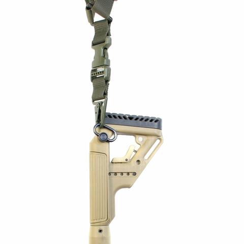 Антабка быстросъемная QD на оружии, Fab Defense