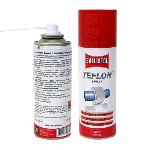 Тефлоновая смазка Ballistol Teflon 200 ml