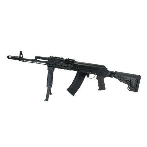 Пластиковый приклад АК-74 на оружии