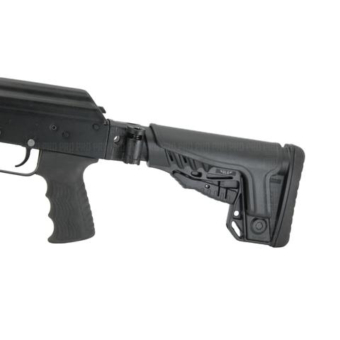 Складной приклад АК-74, АКМ, ВПО-133, -136, -209 с щекой